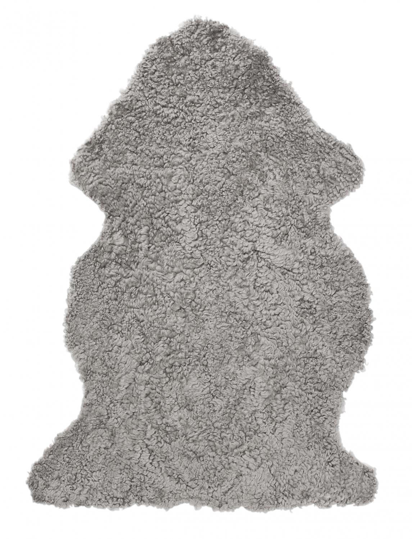 Curly Fårskinn - Naturgrå
