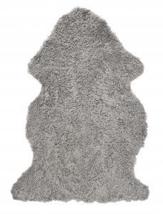Curly Sheepskin - Natural Grey