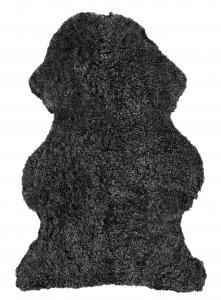Curly Sheepskin - Dark Grey