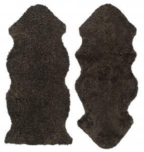 Curly 1.5 Sheepskin - Brown
