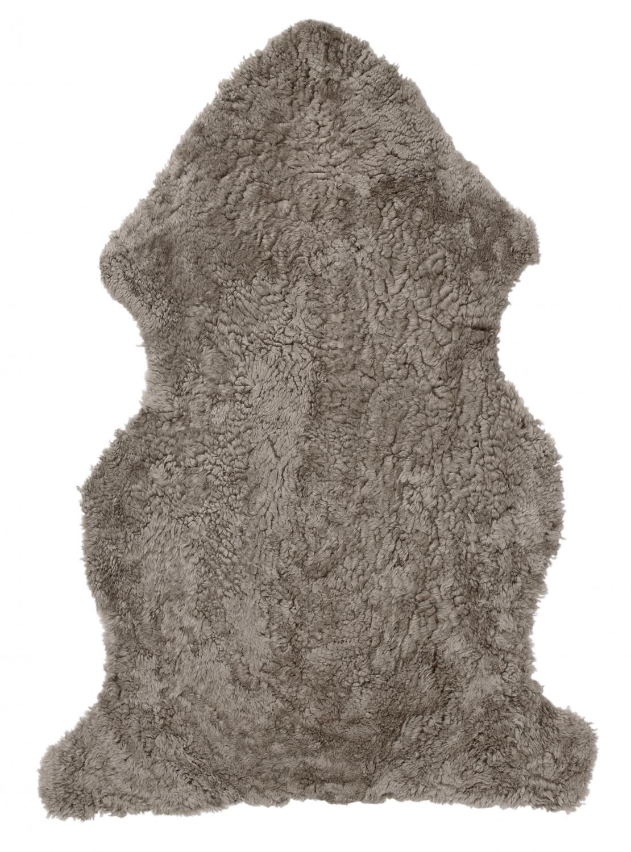 Curly Fårskinn - Ljusbrun (Sahara)