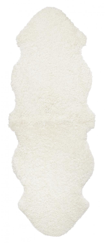 Curly Double Sheepskin - White