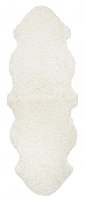 Curly Double Sheepskin - White