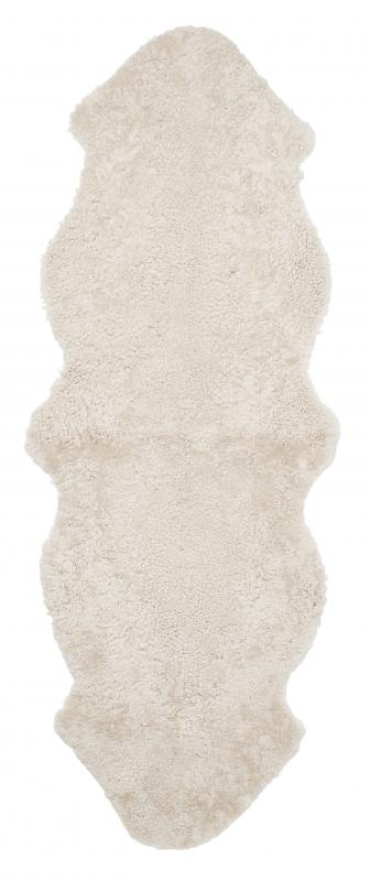 Curly Double Sheepskin - Beige Moonlight