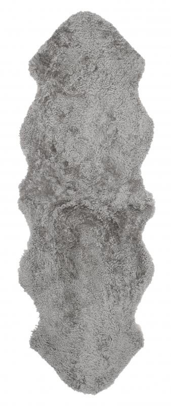 Curly Double Sheepskin - Natural Grey