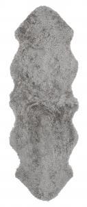 Curly Dubbelt Fårskinn - Naturgrå