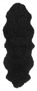 Curly Double Sheepskin - Black