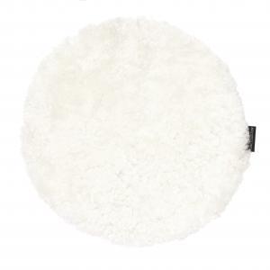 Curly Seat pad 34Ø - White