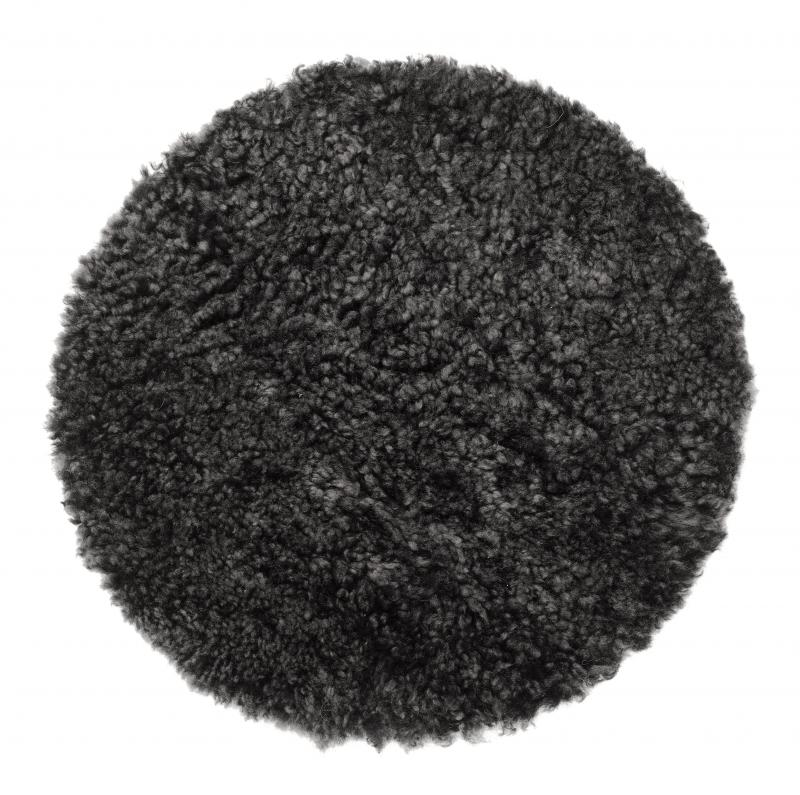 Curly Seat pad 34Ø - Dark Grey