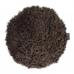 Curly Seat pad 34Ø - Brown