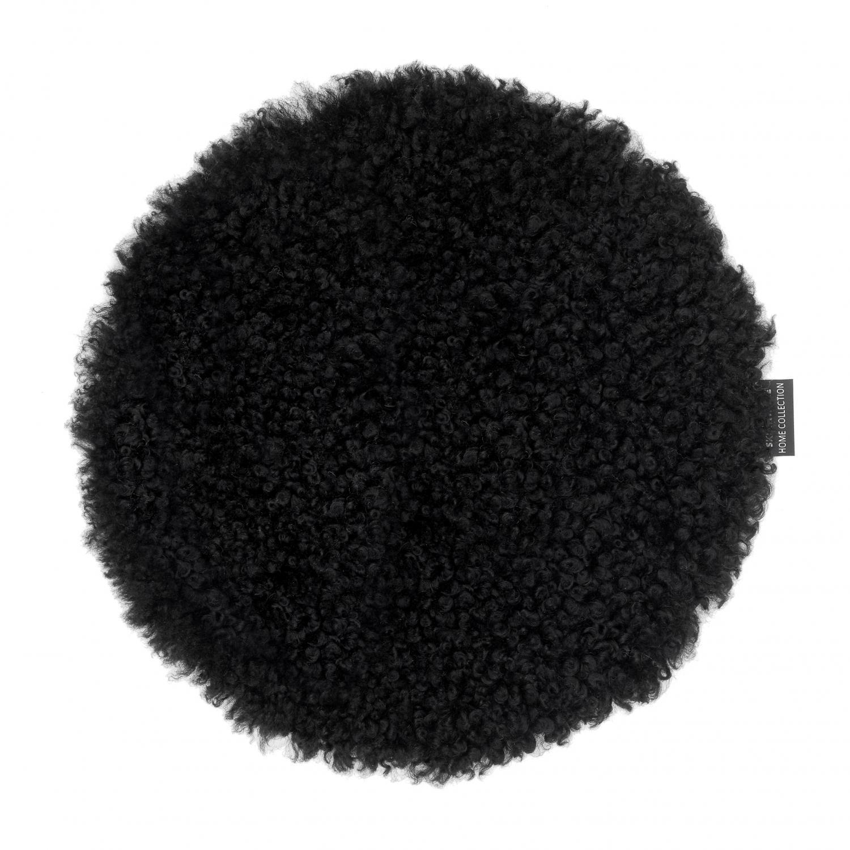 Curly Seat pad 34Ø - Black