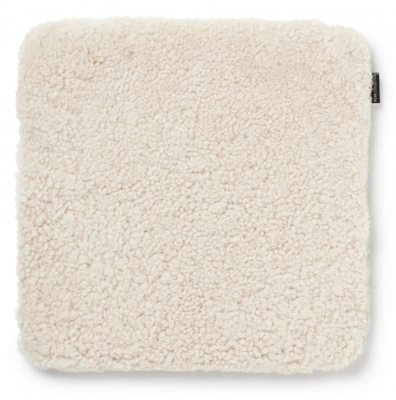 Curly Seat pad 40x40 - Beige