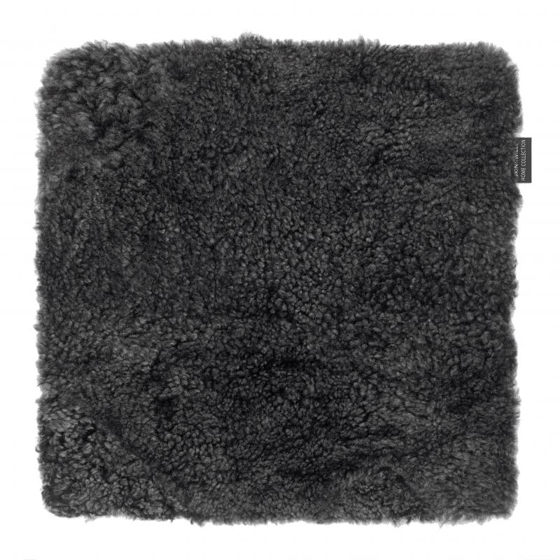 Curly Seat pad 40x40 - Dark Grey