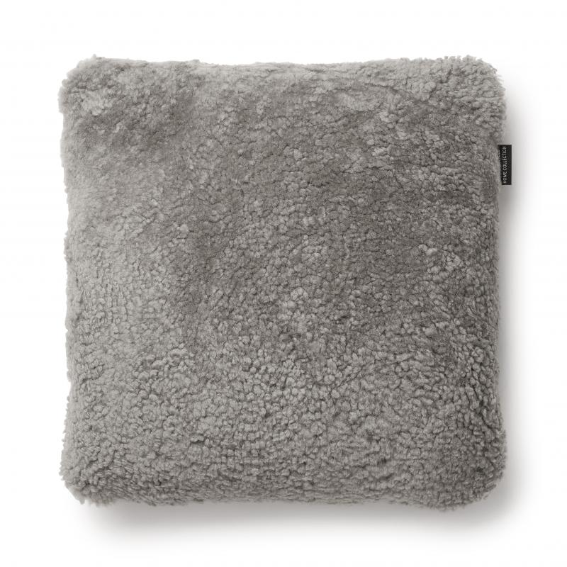 Curly Cushion cover 45x45 - Natural Grey