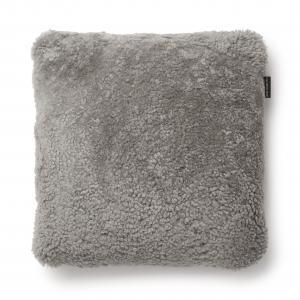 Curly Kuddfodral 45x45 - Naturgrå