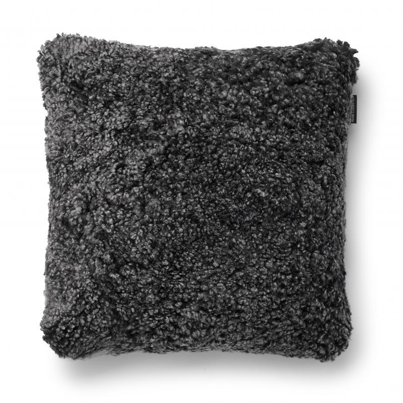 Curly Cushion cover 45x45 - Dark Grey