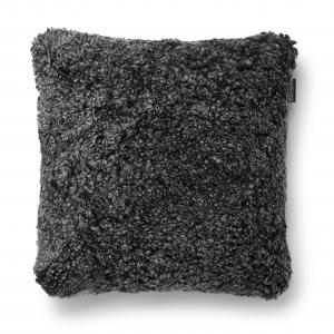 Curly Cushion cover 45x45 - Dark Grey