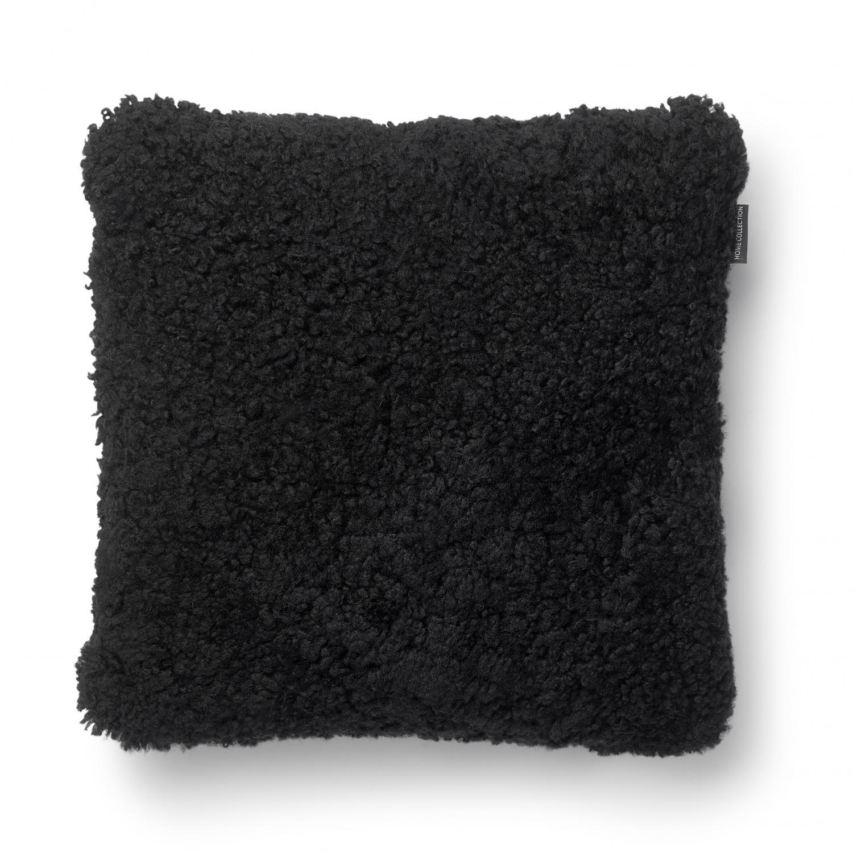 Curly Cushion cover 45x45 - Black