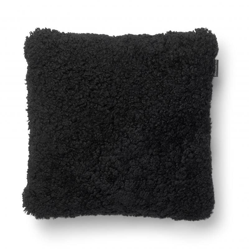 Curly Cushion cover 45x45 - Black