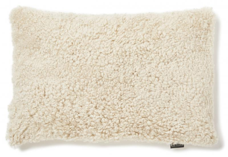 Curly Cushion cover 40x60 - Beige Moonlight