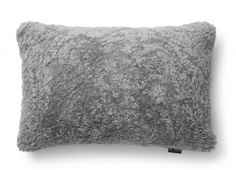 Curly Cushion cover 40x60 - Natural Grey