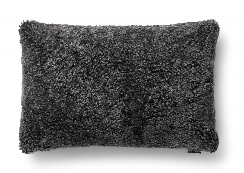 Curly Cushion cover 40x60 - Dark Grey