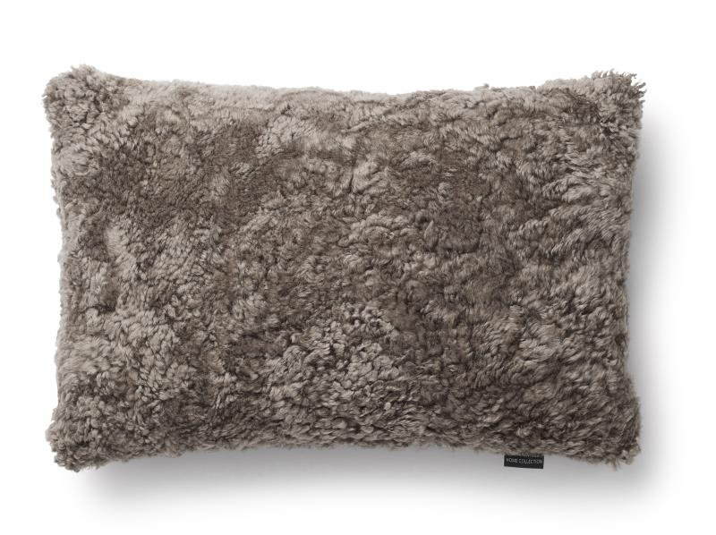 Curly Cushion cover 40x60 - Light Brown
