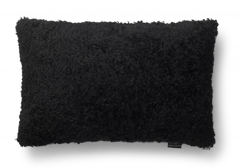 Curly Cushion cover 40x60  - Black