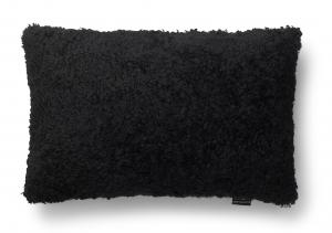 Curly Cushion cover 40x60  - Black