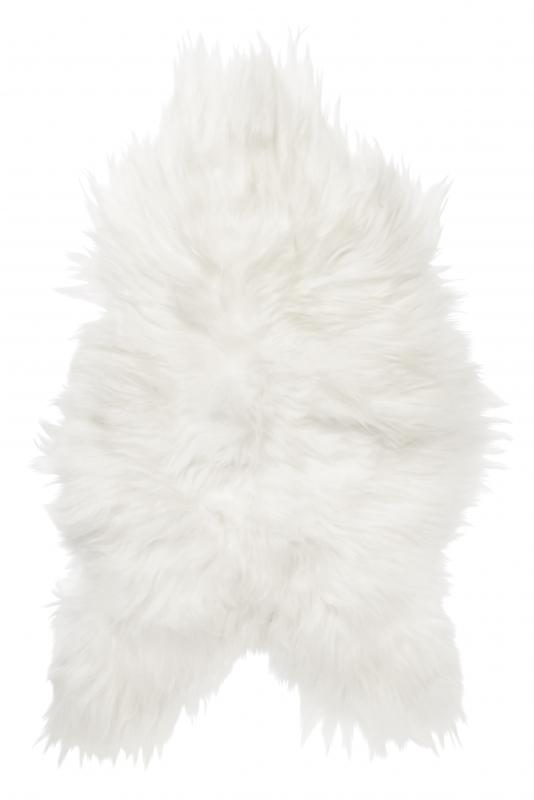 Molly rug. Sheepskin - Natural White