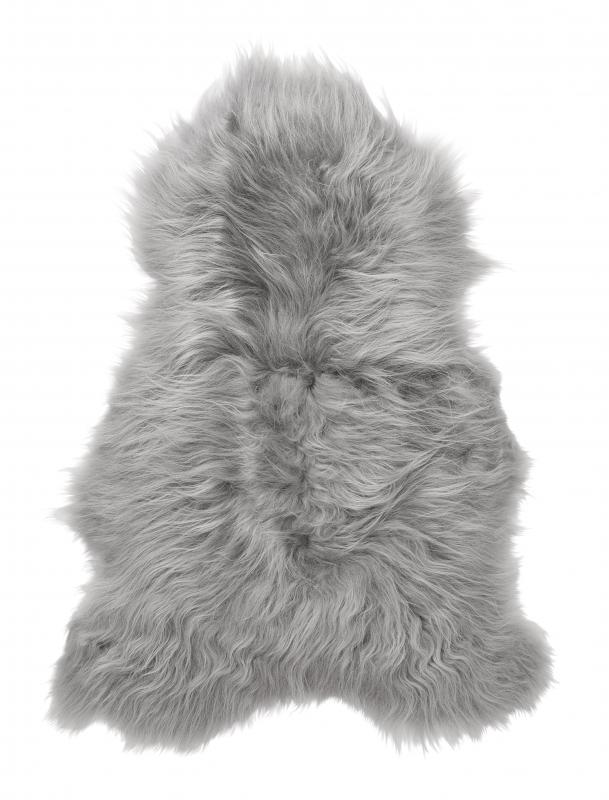 Molly rug. Sheepskin - Grey Brisa