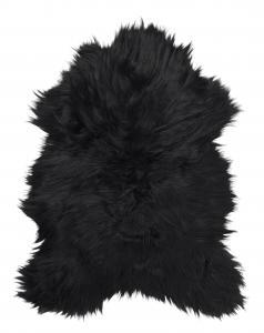 Molly rug. Sheepskin - Natural Black