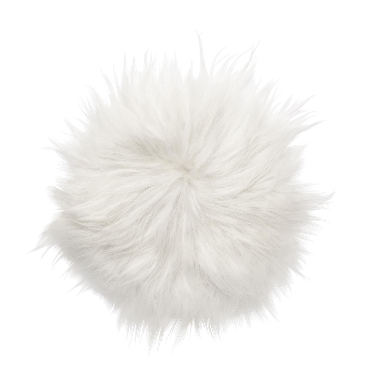 Molly Seat pad 35Ø - Natural White