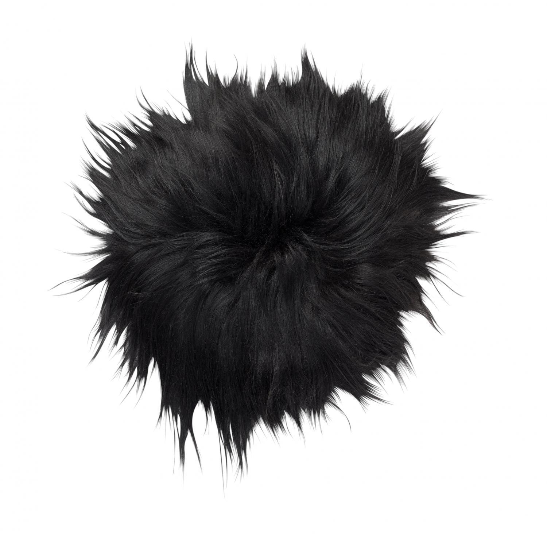 Molly Seat pad 35Ø - Natural Black