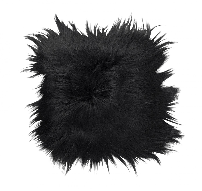 Molly Seat pad 40x40 - Natural Black