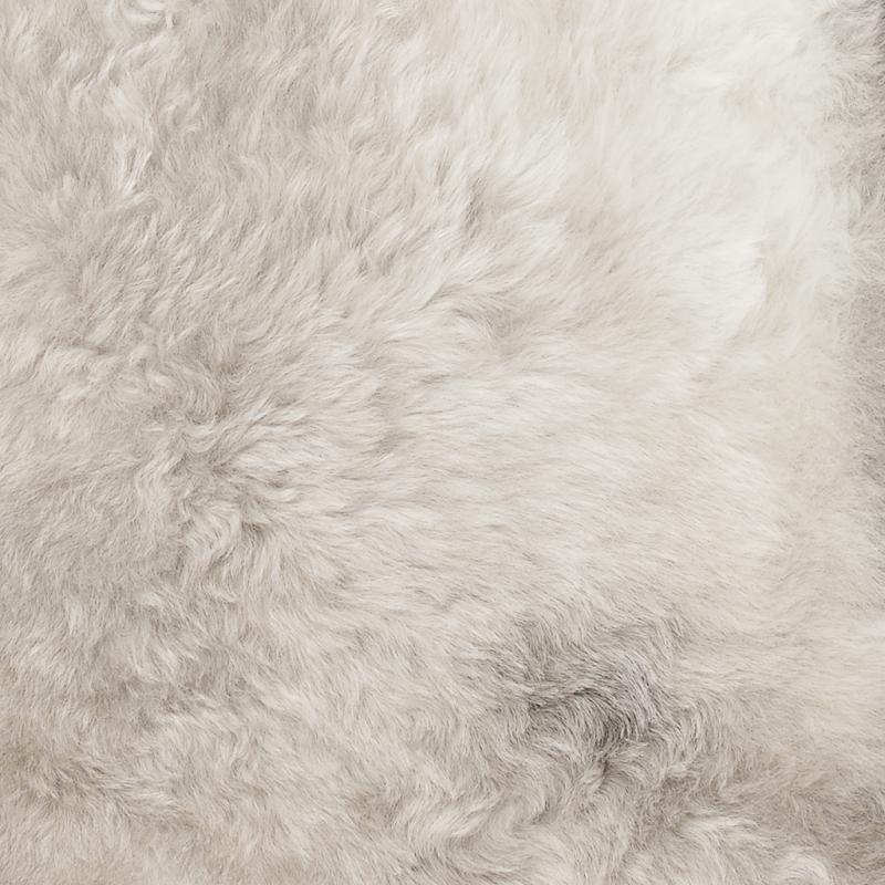 Nelly rug. Sheepskin - Natural Brown Melerad