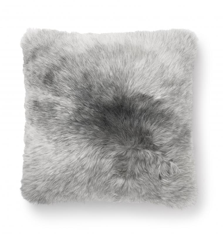 Nelly Cushion 45x45 - Natural Grey