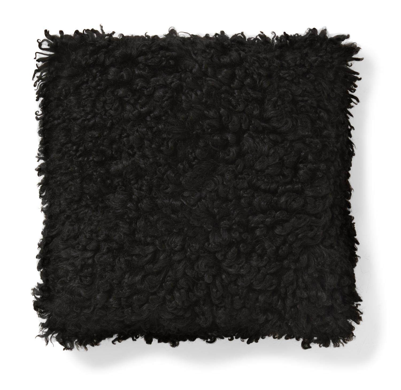 Ebony Cushion cover - Natural Black