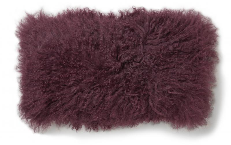 Shansi Cushion cover 25x50 - Bordeaux