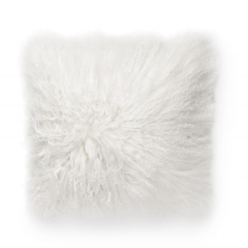 Shansi Cushion cover - White