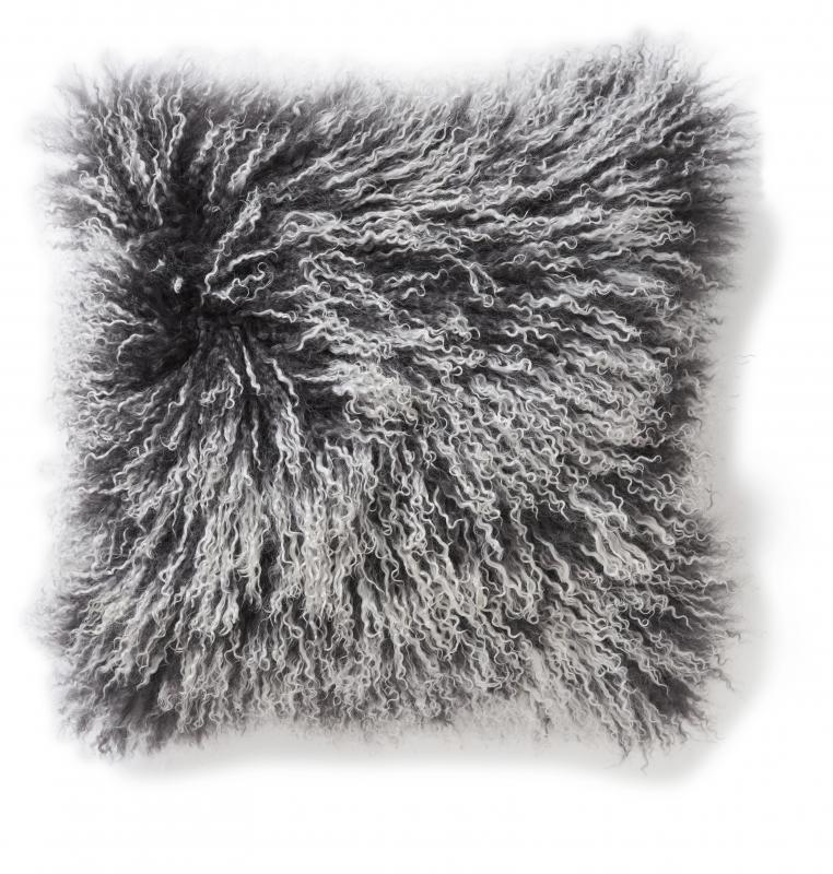 Shansi Cushion cover - Grey Snowtop