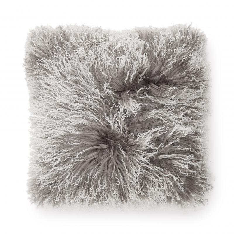 Shansi Cushion cover - Grey Snowtop