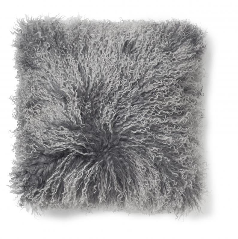 Shansi Cushion cover - Grey Silvertop