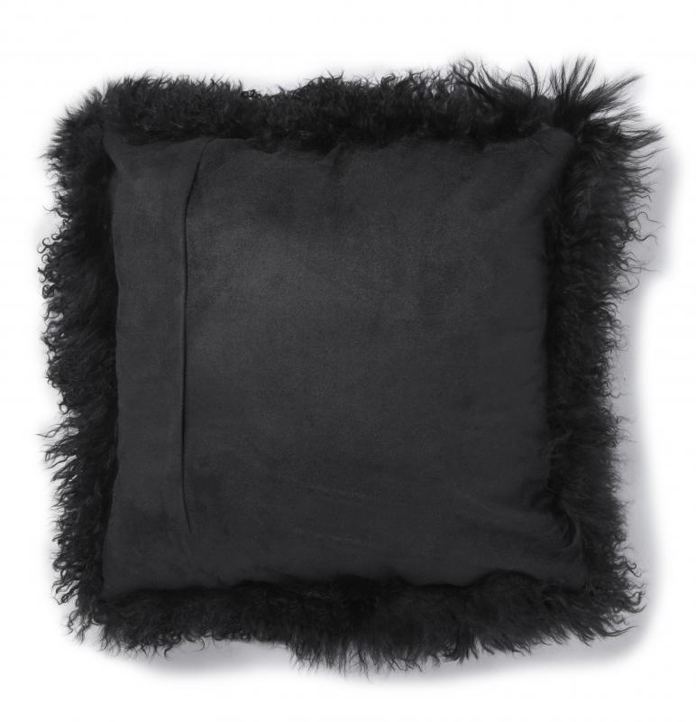 Shansi Cushion cover - Black