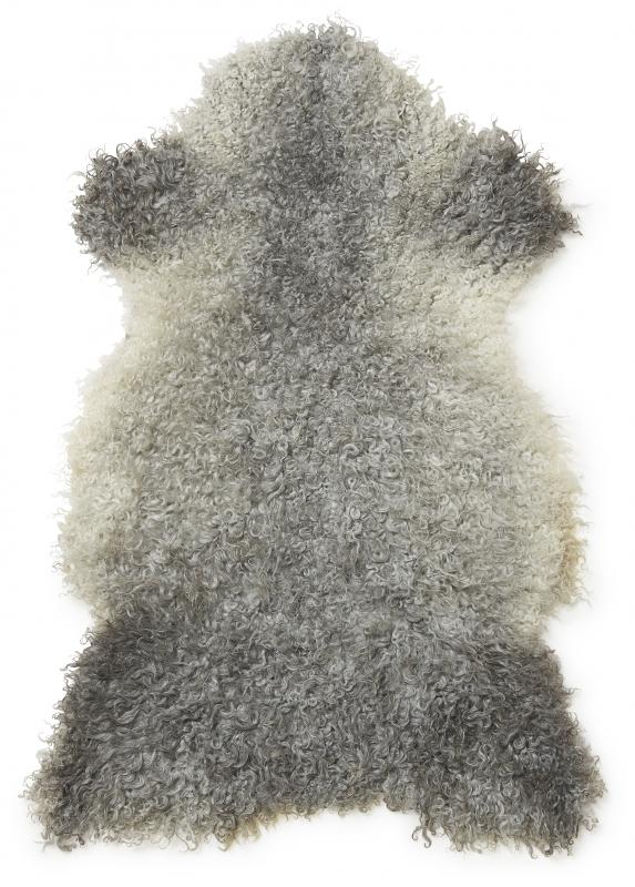 Gotland rug. Sheepskin - Natural Grey