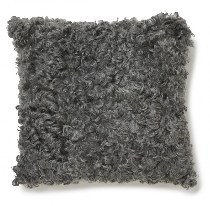 Gotland Cushion - Natural Grey
