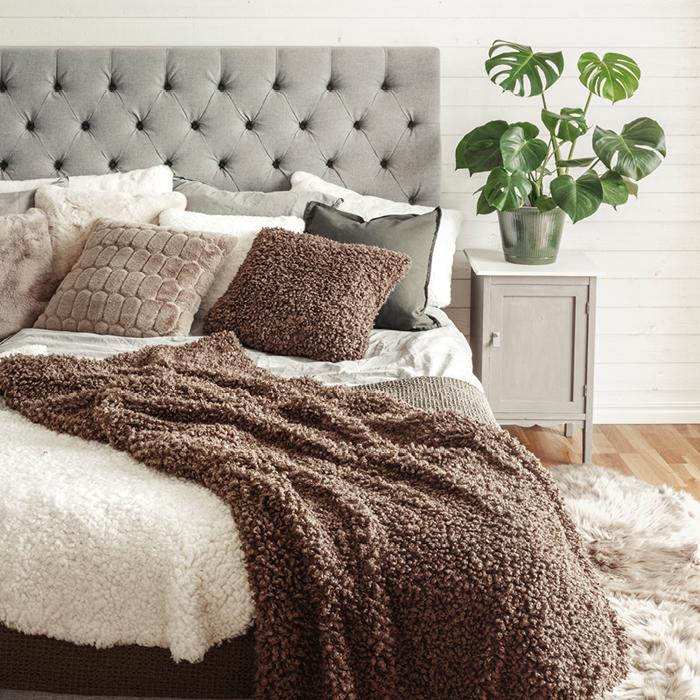 Ulli cushion cover - Nougat