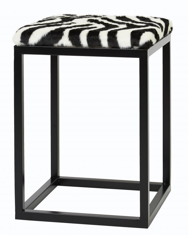Palle S Faux Fur Zebra/Black