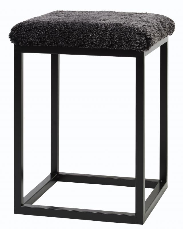 Palle Stool S Dark Grey/Black