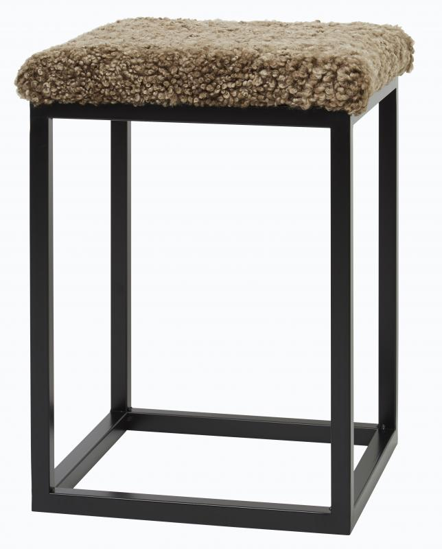 Palle Stool S Light Brown/Black